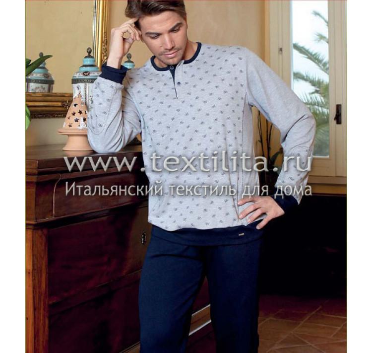 0ca12cf2733a3 Тонкий хлопковый мужской домашний костюм для дома из Италии купить ...