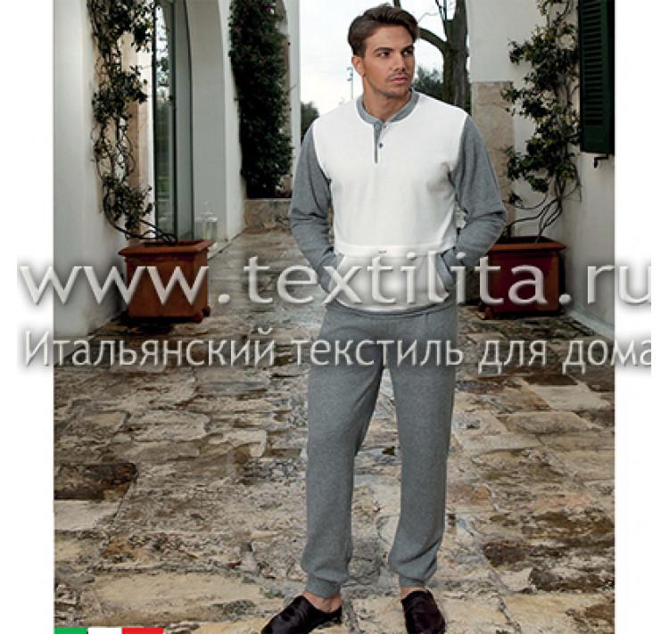 75fde749c611d Тёплый мягкий итальянский мужской костюм для дома купить недорого в ...